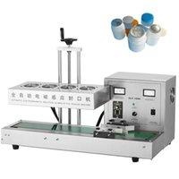 Selador de tampa da garrafa contínua de GLF-1800 / máquina de selagem da máquina de vedação da folha de alumínio da folha de alumínio da máquina de selagem da máquina de vedação 220V 1800W