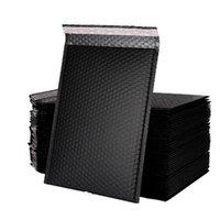 15 * 20см черный пузырь, амортизационная упаковка почтовой матовый конверт сумка для упаковки для бизнеса подложенные полиэтиленовые мешки