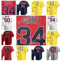2021 Kundenspezifische Männer Frauen Jugend Chris Verkauf 41 Baseball Trikots City Connect 11 Rafael Facher David Ortiz Hernandez Bogaerts Verdugo Yastrzemski Benintendi Jersey