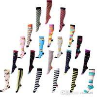Professional Compression Socks Sports Stretch Socks Breathable Travel Activities Fit for Nurses Shin Splints Flight Travel Sports