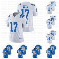 UCLA BRUINS 2021 NCAA 축구 유니폼 Dorian 톰슨 - 로빈슨 Demetric Felton Greg Dulcich Caleb Johnson Elijah Gates Chase Griffin