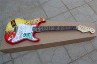 Custom Shop Jimi Hendrix's Montery Stratocaster غيتار كهربائي Strat Basswood Body Rosewood الأصابع الموالفات عالي الجودة الآلات الموسيقية