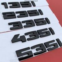 Glänzende schwarze Brief Zahl Emblem für BMW M M1 M2 M3 M4 M5 M6 M7 M8 x4m x5m x6m M540i M135i M335i M240i M550D M750LI Auto Aufkleber