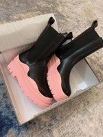 Новые резиновые короткими ботинками Jelly цветной половину обуви нижний 6 см Высокая помощь Толстые оптом круглые пальцы простых роскошных товаров размером от 35 до 39
