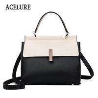 ACELURE Fashion Female Big Bag New Quality PU Leather Women's Designer Handbag Ladies Briefcase Tote Shoulder Messenger Bags