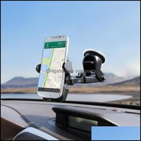 Mounts Aessories Cell Phones & Aessories Mobile Car Phone 360 Degree Adjustable Window Windshield Dashboard Holder Stand For All Cellphone G