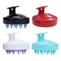 Haar-Clippers Weiche Silikon-Shampoo-Bürstenhaar-Salon Home Massage Shampoo Kamm Reinigen Sie die Kopfbürste