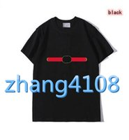 İndirimli Kalite Klasik Yorumlarda Bölüm Yüksek Kalite Tasarımcısı - Marka erkek T-Shirt Style T-shirt Hop erkek ve kadın Siyah Kısa SLE