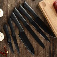Edelstahl Küchenmesser 3,5 '' 5 '' 7 '' 8 '' Paring Utility Santoku Schneiden Brot Chef Messer Fleisch Fisch Küche Gadgets Kostenlose DHL Lieferung