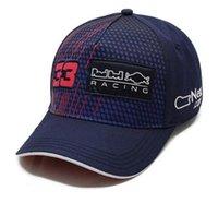 F1 Capuchon de course NOUVEAU VERSTAppen Capuchon de baseball logo brodé complet