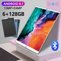 Tablettes Android 8.1 Matepad Pro 10.1 pouces 6GB RAM 128GB ROM Tablet Android 4G Réseau 10 Core Tablet PC Tablette Pas Cher