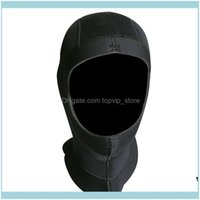 Water Sports & Outdoors5Mm Neoprene Men Scuba Swim Dive Caps Snorkeling Equipment Waterproof Cold Proof Wet Suit Winter Keep Warm Headwear S