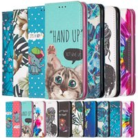 Luxury Magnetic Painting Phone Leather Wallet Case For Samsung Galaxy A12 A32 A42 A52 A72 A02S 5G Card slot Stand Book Cover