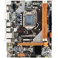Placas base B75 / H61 Micro Motterboard LGA 1155 Socket DDR3 Memory VGA PCI-E para Intel LGA1155 I3 Xeon Series Dowtop Planeta de escritorio