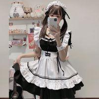 2021New Maid-Kostüm Cos süßes Mädchen Damenkleid Lolita Kleid Lolita Cosplay Kostüm