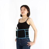 휴대용 붉은 빛 슬리밍 벨트 360도 적외선 레이저 치료 지방 뚱뚱한 체중 감량 통증 완화
