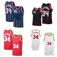 Basketball Jersey34 Hakeem Olajuwon
