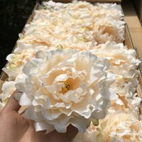 50pcs lot Artificial Peony Flower Head Wedding Party Christmas Decoration DIY Silk Flower Wall Background Decor Accessories