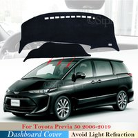 Armaturenbrett Cover Schutzpolster für Toyota Previa 50 2006 ~ 2019 XR50 ETTRAL TARAGO Zubehör Dash Board Sunshade Teppich Anti-UV