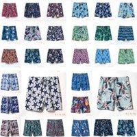 04 swim quick drying men's beach pants turtle vilebrequin fashionable urban leisure hip hop printed shorts swimwear swimming trunksjs