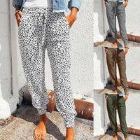 Oeak Harajuku Joggers Leopard Print Casual Pants Wide Leg Sweatpants Women Trousers Plus Size High Waist Pants Streetwear1