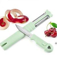 Peeleuse pivotante à outil unique multifonctionnelle de pivotement et de peaux de pivotement de légumes et de fruits
