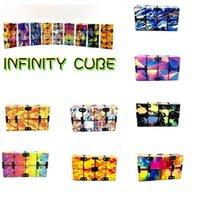 Infinity Magic Cube Creative Sky Fidget AntiStress Игрушки Office Flip Cubic Puzzle Mini Blocks Декомпрессия Смешная игрушка 496