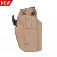 Tactical New Arrival Black Tan Green Color Holste For G17 G20 G21 G22 G37 CL7-0072