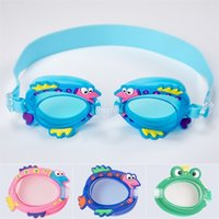Kids Swimming Glasses Waterproof Antifogging Goggles Diving Glasses Water Sports Multicolor Unisex Boy Girl Anti UV Anti-fog H26SMIZ