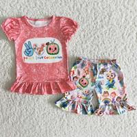 2021 Vente chaude bébé fille designer vêtements vêtements en gros enfants vêtements Ensemble de girls de girls girls vêtements boutique tenues de mode