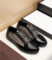 40% Rabatt Italien Designer Luxusschuhe Qualität Ace Gestickte Männer Schuhe High Top Echtes Leder Designer Sneaker Freeshiping Order