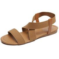 Sandals Gladiator Women Fashion Summer Beach Roman Sandal Flip Flops Shoes Ladies Flat Sandalias Mujer Female