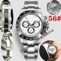 20 relojes de pulsera de lujo de alta calidad de 40 mm 2813 Reloj automático Bisel de cerámica 316L Acero sin cronógrafo Montre de Luxe Relojes para hombre a prueba de agua