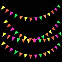 Banner Flags happy birthday creative personality atmosphere decoration