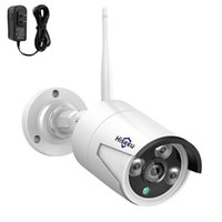 Telecamera di sicurezza wireless esterna Hiseeu 3MP, impermeabile Compatibile 8CH 3.6mm Lens IR Cut Giorno Night Vision con Adattatore di alimentazione