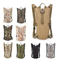 Camouflage Tactical Water Bag Backpack with Inner Tank and Outdoor Mountaineering Riding