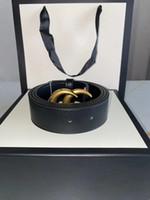 Cintura in fibbia in oro alla moda, alta qualità e moda, adatto sia per donne da uomo, stile 95-120 cm, scatola bianca fine, consegna espressa gratuita
