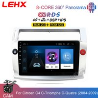LEHX Car GPS Multimedia Video Player 2 din Android 9.0 2G RAM DSP DVD For Citroen C4 C-Triomphe C-Quatre 2004 2005 2006 - 2009