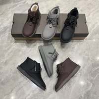 Snow boots 2021men shoes designer boot sb dunk wool Cold proof winter warm shoe new fashion versatile lulu af1 nmd tn Lace up zipper thick bottom Purse With box size39-44