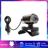 Webcams Full HD Cam Webcam USB Computer Driver-free With Built-in Sound-absorbing Microphone For PC Live Video TSLM