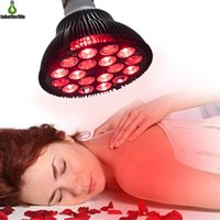 Red Light Bulb Therapy 54W 18LED Infrared Lamp 660nm 850nm Near Combo for Skin Pain Relief