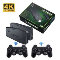 M8 Video Game Consoles Built-in 10000 Retro Game Console With Wireless Controller Video Games Stickers For FC GB MD SFC PS