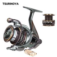 Tsurinoya Pêche Reel Jaguar 3000 Double Spools Tournage Rendez-vous à grande vitesse 9 + 1BB Vente chaude Basse supplémentaire Spool