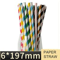 Biodegradable Paper Straws Starbucks Paper Straw Environmental Protection Drink Straw for Coffee   Milk   Cocktail