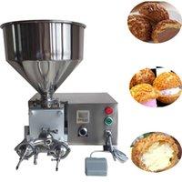 Máquina de llenado de acero inoxidable Máquina de llenado de churros Máquina de relleno de pan de chocolate Máquina de llenado de crema de chocolate