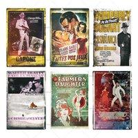 Classic Film Metall Poster Plaque Metall Vintage Film Metall Zeichen Wanddekor Für Bar Pub Mann Höhle Eisen Malerei Zinnzeichen