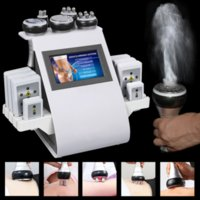 6 In 1 40K Ultrasonic Cavitation Vacuum Radio Frequency 8 Pads Lipo Laser Skin Firming Body Slimming Machine Powerful Fat Removal for Home Use