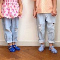 Jk coréens qualité enfants garçons filles filles mode pantalon pantalon pantalon design design unisexe enfants vêtements