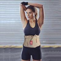 الهواء الخصر دعم حزام الظهر الجر جهاز نفخ مدلك العمود الفقري قطني للعمل زخرفة مريحة