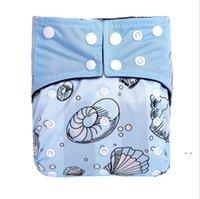 Pocket Diaper Baby Lavabile Bambù Banchino Pannolino Pannolini Digital Printing Digital Pocket Pannolini Pannolini Riutilizzabili Pannolini Riutilizzabili DWB5027